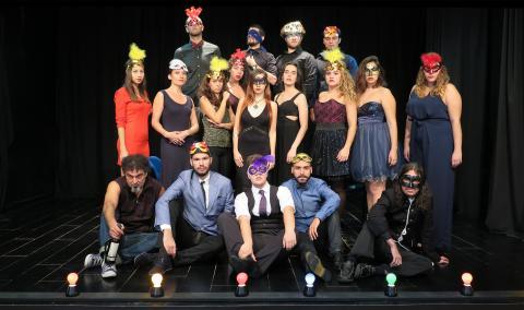 Alumnos de la Escuela De Actores de Canarias preparan Fausto