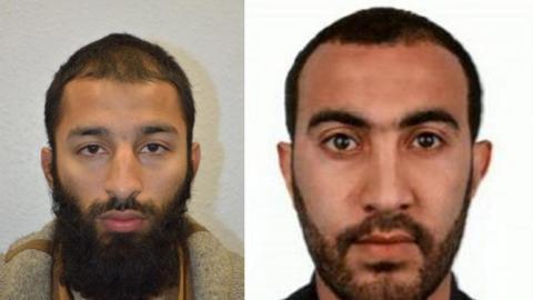 Los dos terroristas de Londres