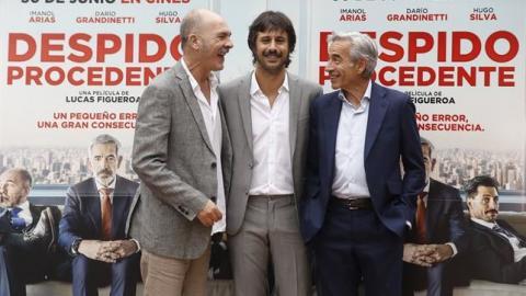 Imanol Arias y Hugo Silva
