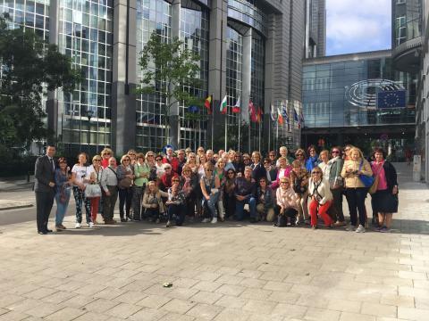 Estudiantes del Diploma de Estudios Europeos de la ULPGC