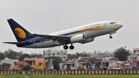 Avión de Jet Airways