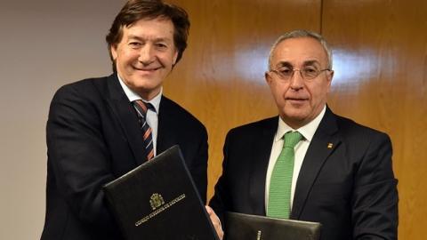 José Ramón Lete y Alejandro Blanco