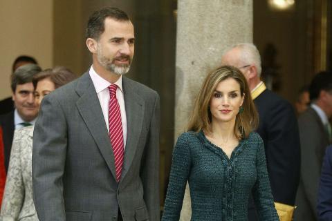 Los Reyes de España, Felipe VI y Doña Letizia