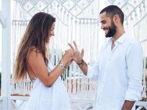 Boda de Malena Costa y Mario Suárez