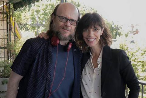 Maribel Verdú y Santiago Segura