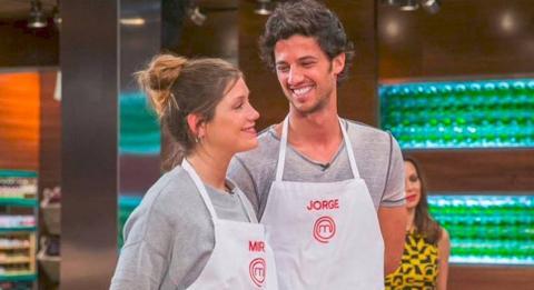 Miri y Jorge, concursantes de Masterchef