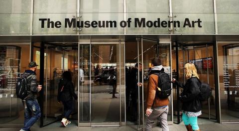 Entrada del MoMa en Nueva York