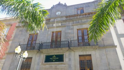 Fachada del Palacio de Carta de Santa Cruz de Tenerife