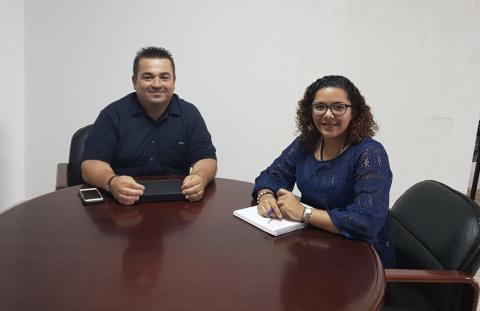 José Roque Pérez y Yasmina García