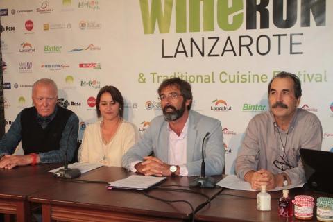 Presentación de la Lanzarote Wine Run