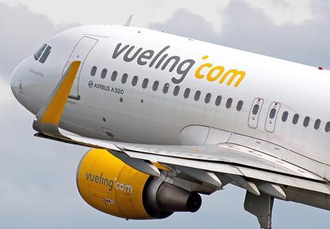 Avión de Vuelling