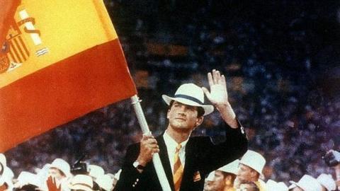 Felipe, abanderado de España