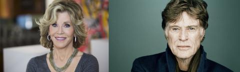 Jane Fonda y Robert Redford