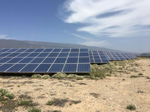 Placas de energía solar