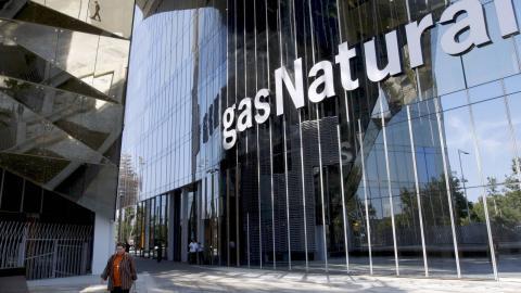 Fachada del edificio de Gas Natural Fenosa