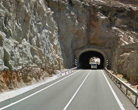 Túnel de Tiritaña en Mogán
