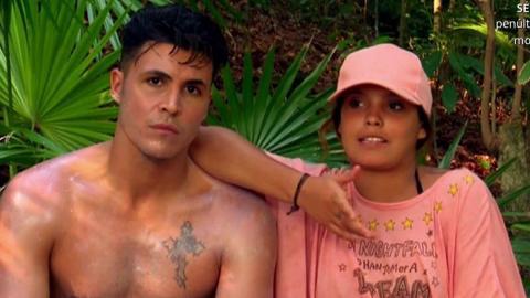 Kiko Jiménez y Gloria Camila