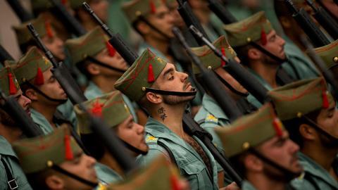 Soldados de la Legión española