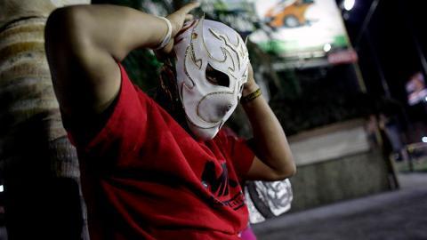 Luchador enmascarado