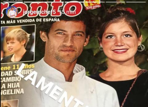 Miri y Jorge en la portada de la revista Pronto