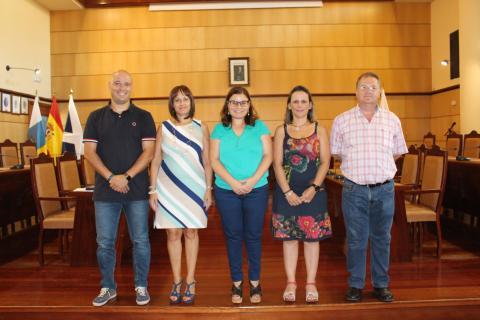 Toma de posesión nuevas funcionarias de Candelaria