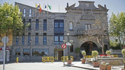 Fachada del Ayuntamiento de Santa Brígida