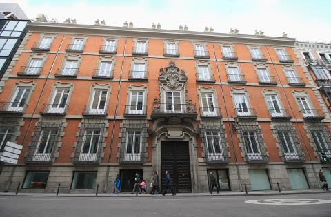 Palacio de Miraflores en Madrid