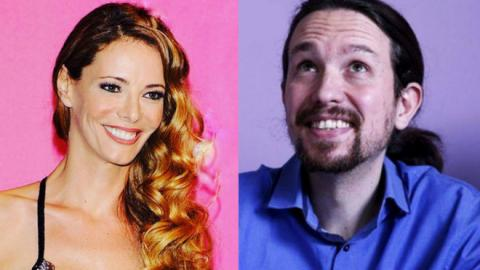 Pablo Iglesias y Paula Vázquez
