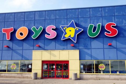 Fachada de Toys 'R' Us