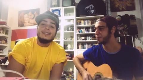 Sainz y Aarón Gómez