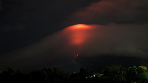 volcán Mayón en Fillipinas