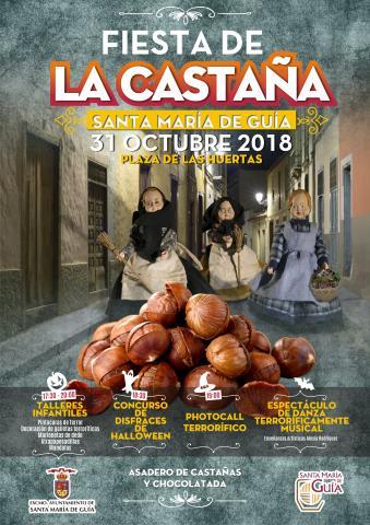 Cartel Fiesta de la Castaña