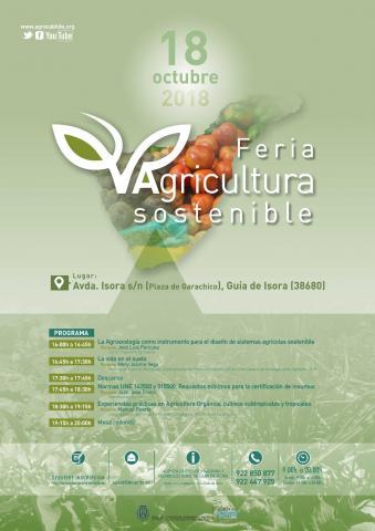 Cartel Feria de Agricultura Sostenible