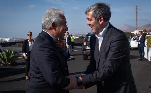 Fernando Clavijo y Antonio Costa