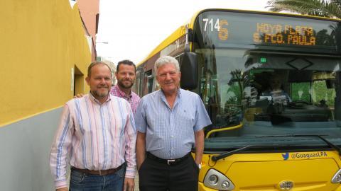 Pedro Quevedo, José Eduardo Ramírez y Heriberto Dávila
