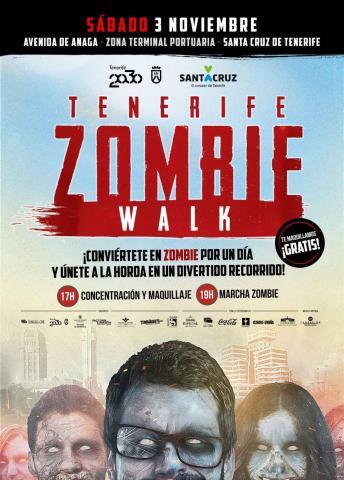 Cartel de Tenerife Zombie Walk