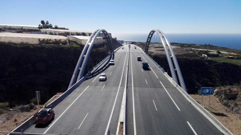 carretera del Anillo Insular de Tenerife