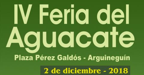 Cartel Feria del Aguacate de Mogán