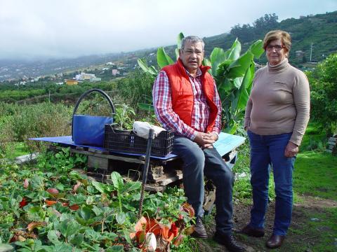 Charo Labrador y Anacleto Hernández
