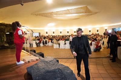Fernando Clavijo en la Fiesta de los Mayores de Teguise