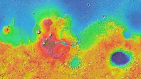 Imagen de Google Mars