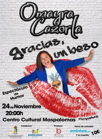 Cartel de Omayra Cazorla