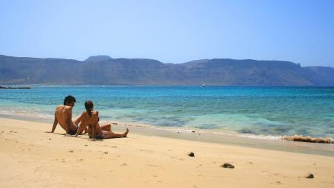 Playa de la Francesa, Lanzarote