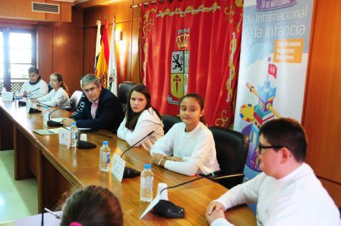 Pleno infantil en San Bartolomé de tirajana