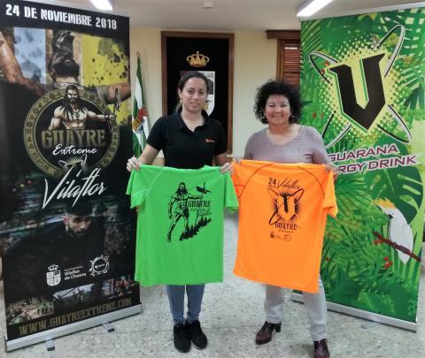 Agustina Beltrán, y Sara Santiago