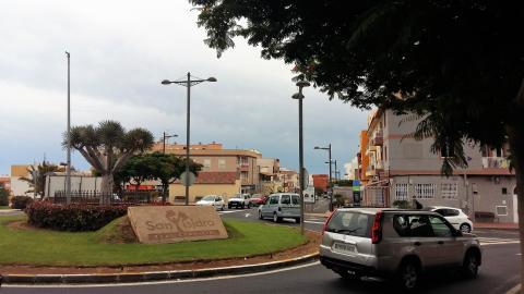 Zona comercial San Isidro