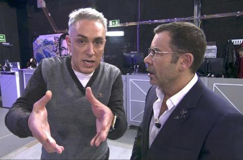 Kiko Hernández y Jorge Javier Vázquez
