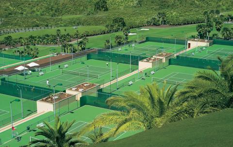Vista de Abama Tennis Academy