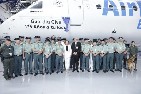Avión Guardia Civil de Air Europa
