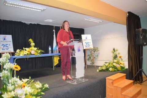 La consejera de Educación Soledad Monzón